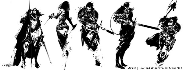 Recent Guild Wars 2 Concept Art Hunters Insight A