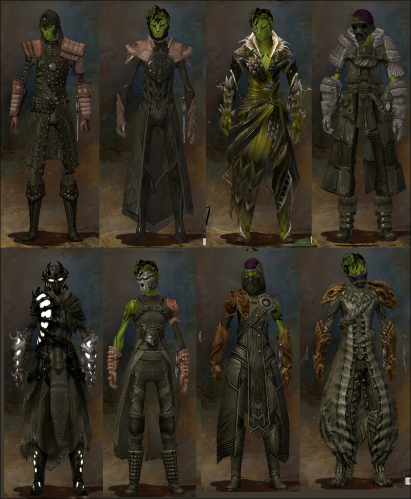 Previewed Armour Sets | Hunter's Insight - A Guild Wars 2 Blog